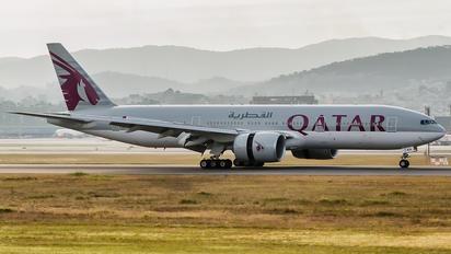 A7-BBA - Qatar Airways Boeing 777-200LR