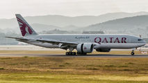 A7-BBA - Qatar Airways Boeing 777-200LR aircraft