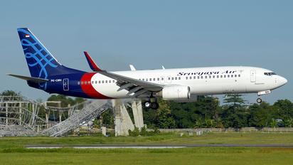 PK-CMH - Sriwajaya Air Boeing 737-800
