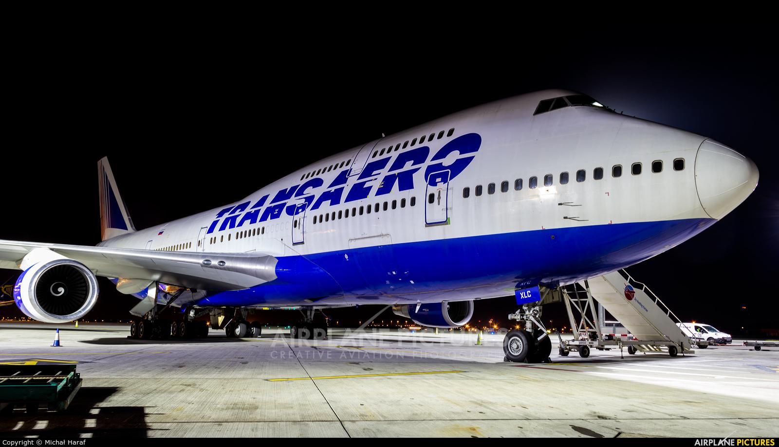 Transaero Airlines EI-XLC aircraft at Dublin