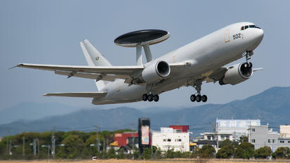 64-3502 - Japan - Air Self Defence Force Boeing E-767