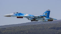 58 - Ukraine - Air Force Sukhoi Su-27 aircraft