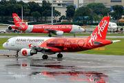 9M-AQI - AirAsia (Malaysia) Airbus A320 aircraft