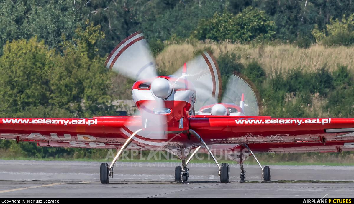 Grupa Akrobacyjna Żelazny - Acrobatic Group SP-AUD aircraft at Poznań - Krzesiny