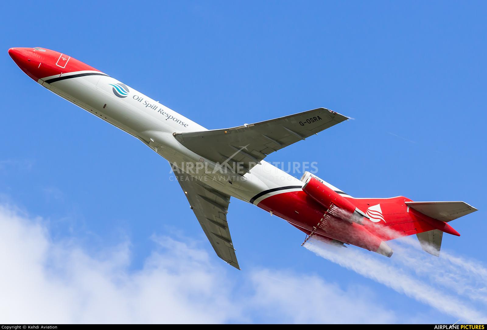 "2 Excel Aviation ""The Blades Aerobatic Team"" G-OSRA aircraft at Farnborough"