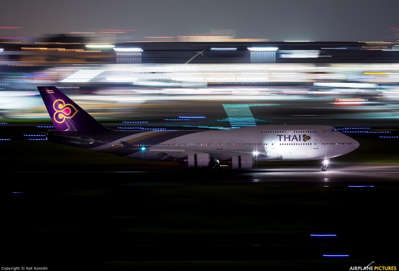 Thai Airways HS-TGB aircraft at Tokyo - Haneda Intl