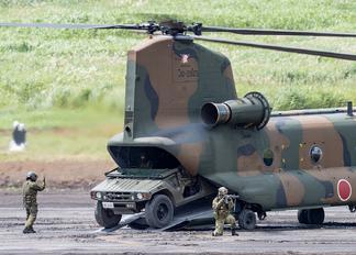 52925 - Japan - Ground Self Defense Force Kawasaki CH-47J Chinook