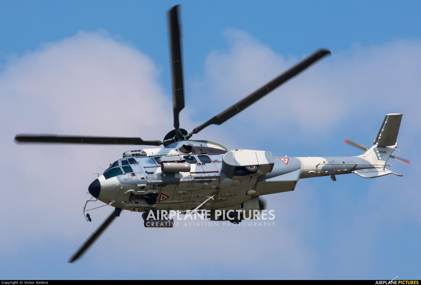 Mexico - Air Force 1008 aircraft at Santa Lucia AB
