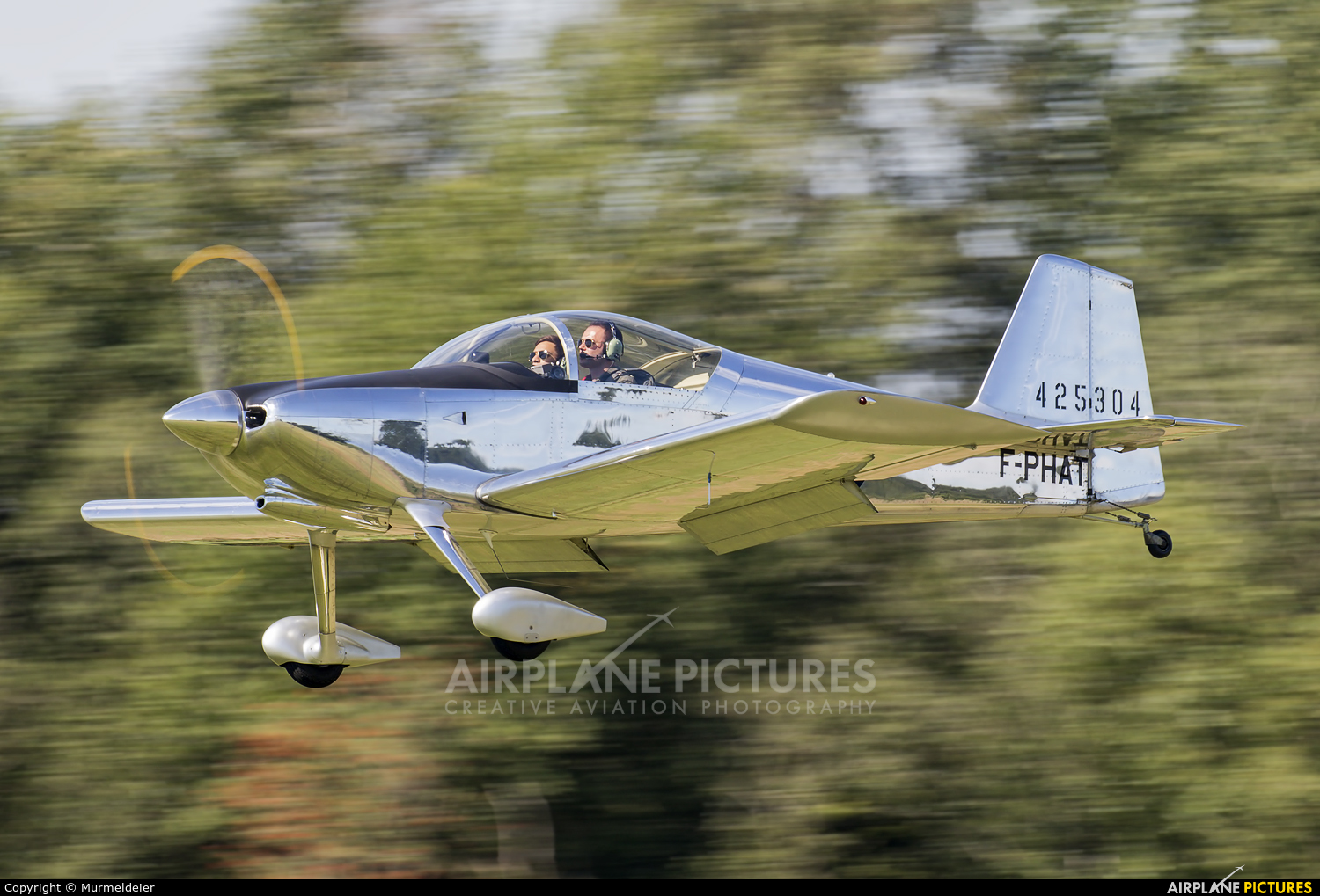 Private F-PHAT aircraft at St Hubert