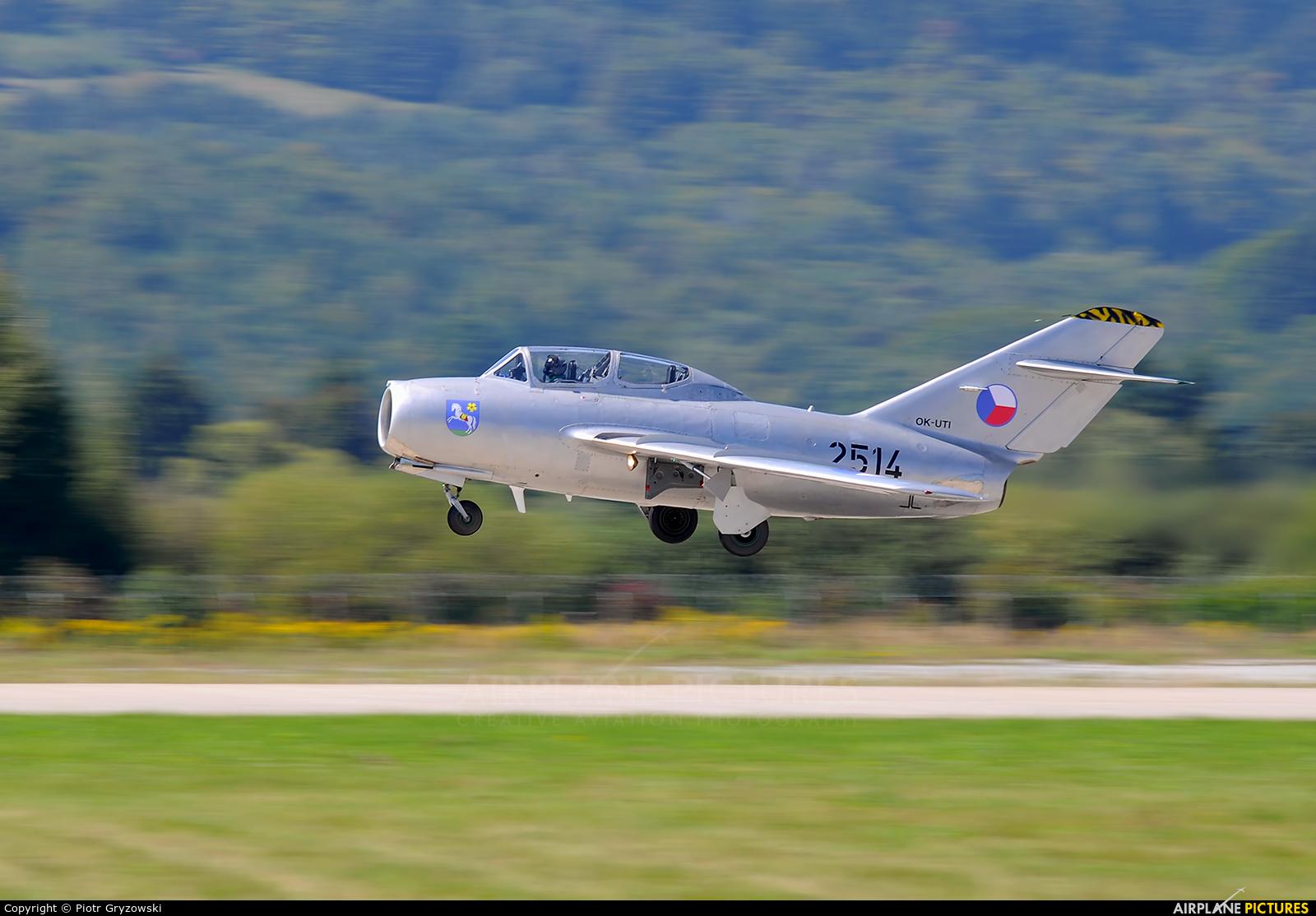 Private OK-UTI aircraft at Sliač