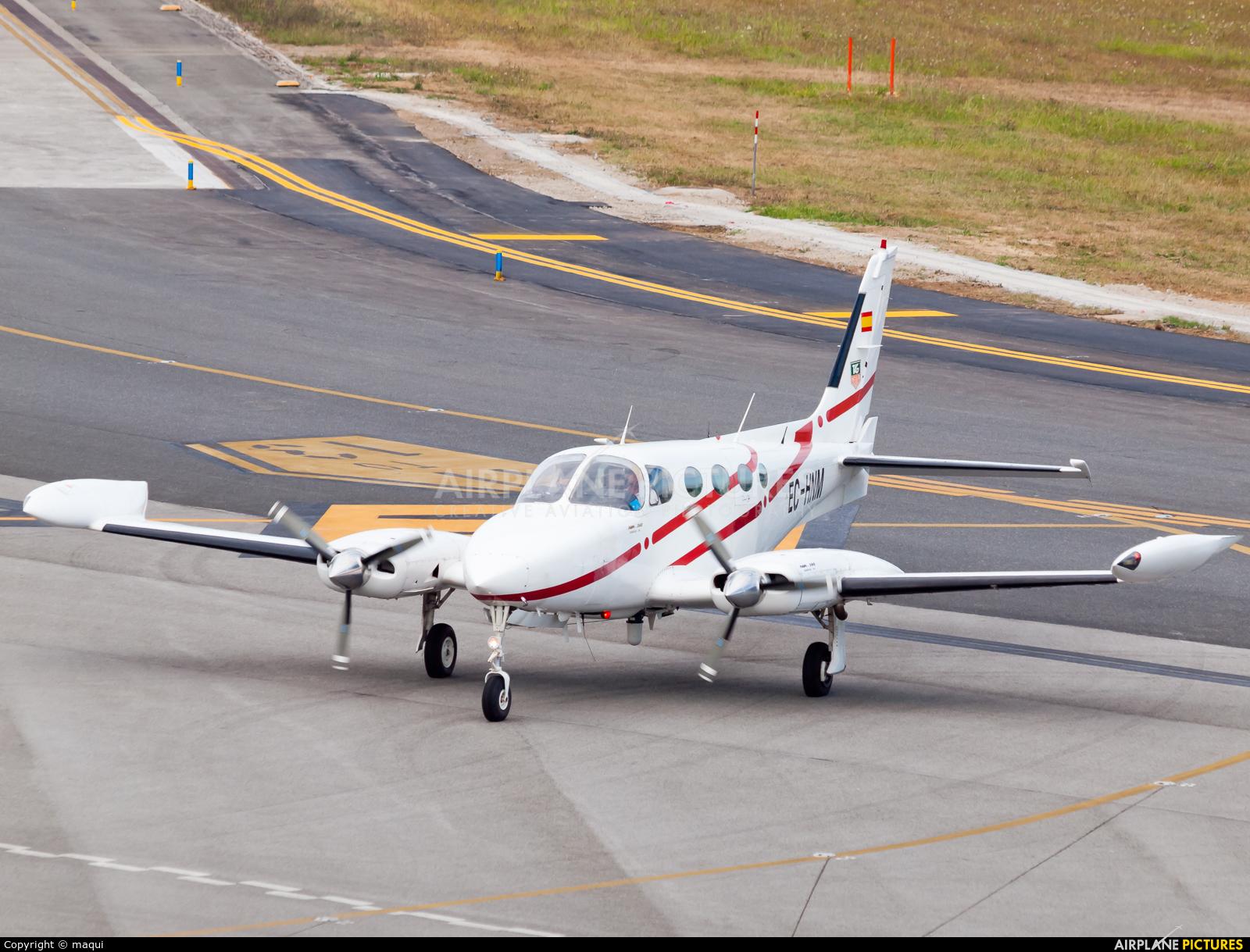 Private EC-HNM aircraft at La Coruña