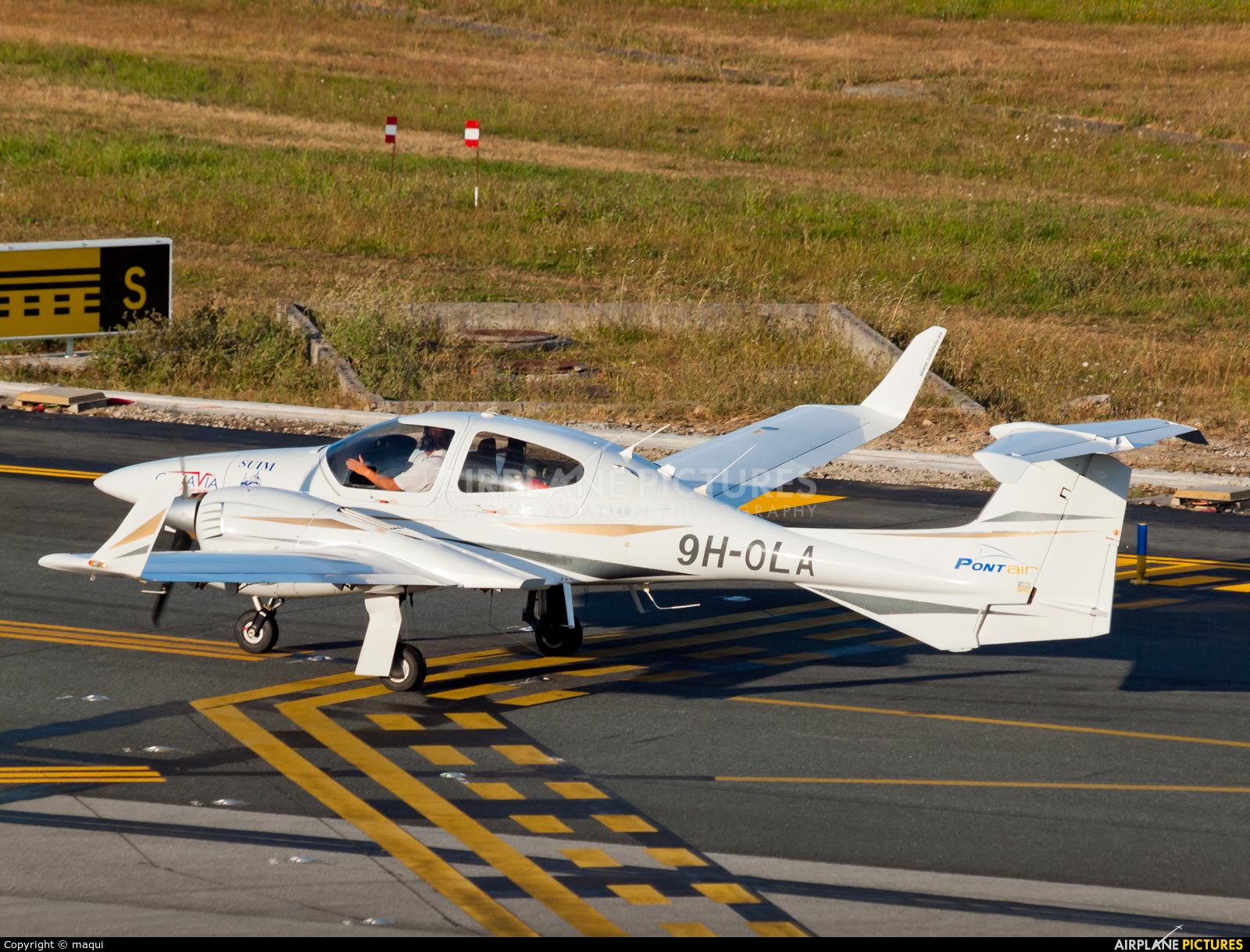 Private 9H-OLA aircraft at La Coruña