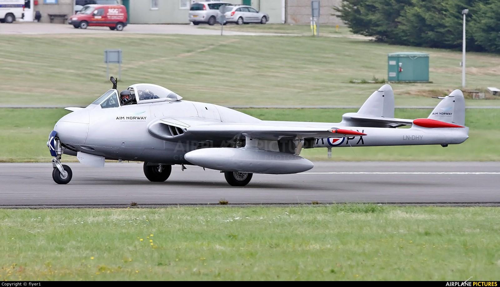 Private LN-DHY aircraft at Dunsfold