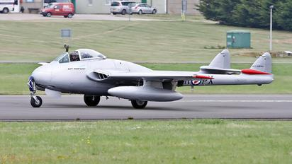 LN-DHY - Private de Havilland DH.100 Vampire FB.6