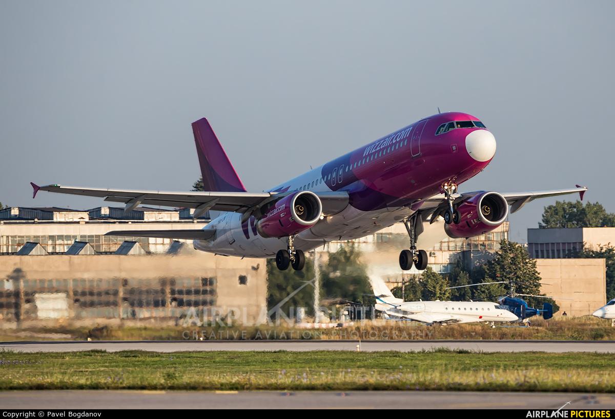 Wizz Air HA-LWI aircraft at Sofia