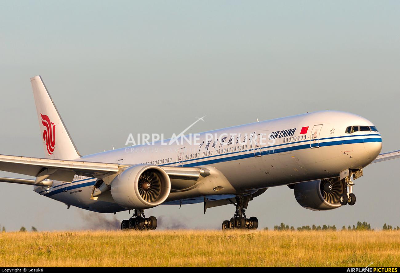 Air China B-2089 aircraft at Paris - Charles de Gaulle