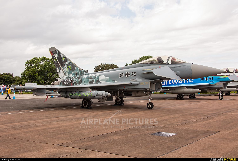 Germany - Air Force 30+29 aircraft at Fairford