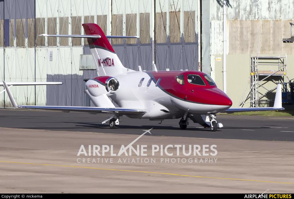 Honda Aerospace M-HNDA aircraft at East Midlands
