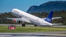OY-KBK - SAS - Scandinavian Airlines Airbus A321 aircraft