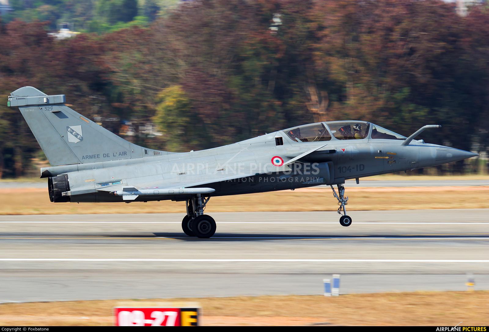 France - Air Force 329 aircraft at Yelahanka AFB