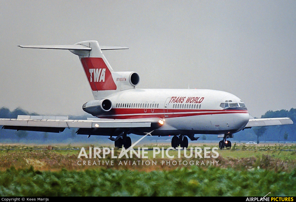 TWA N859TW aircraft at Amsterdam - Schiphol