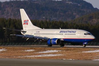 LN-BRR - Braathens Boeing 737-500