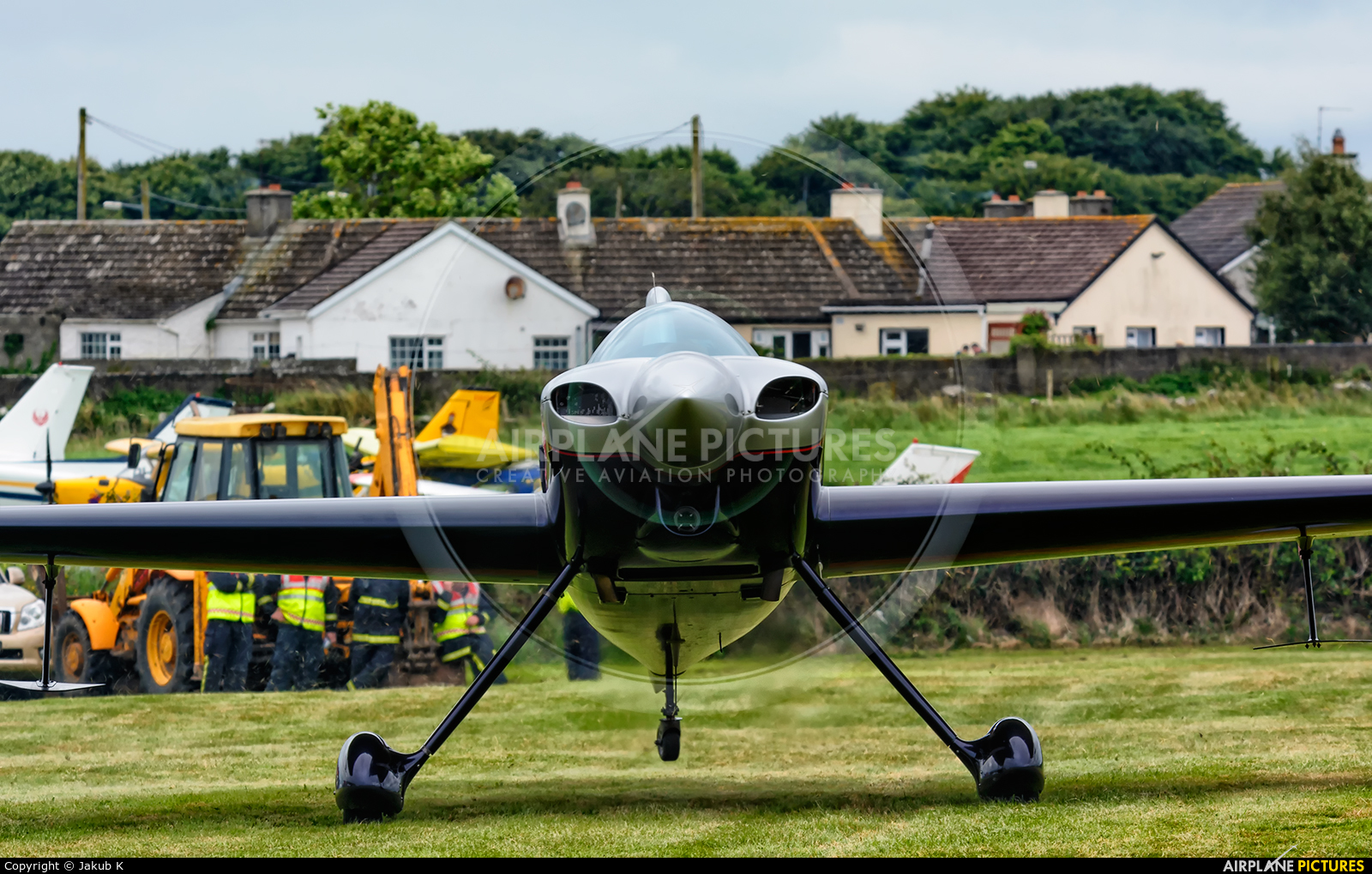 Private D-ECXA aircraft at Birr