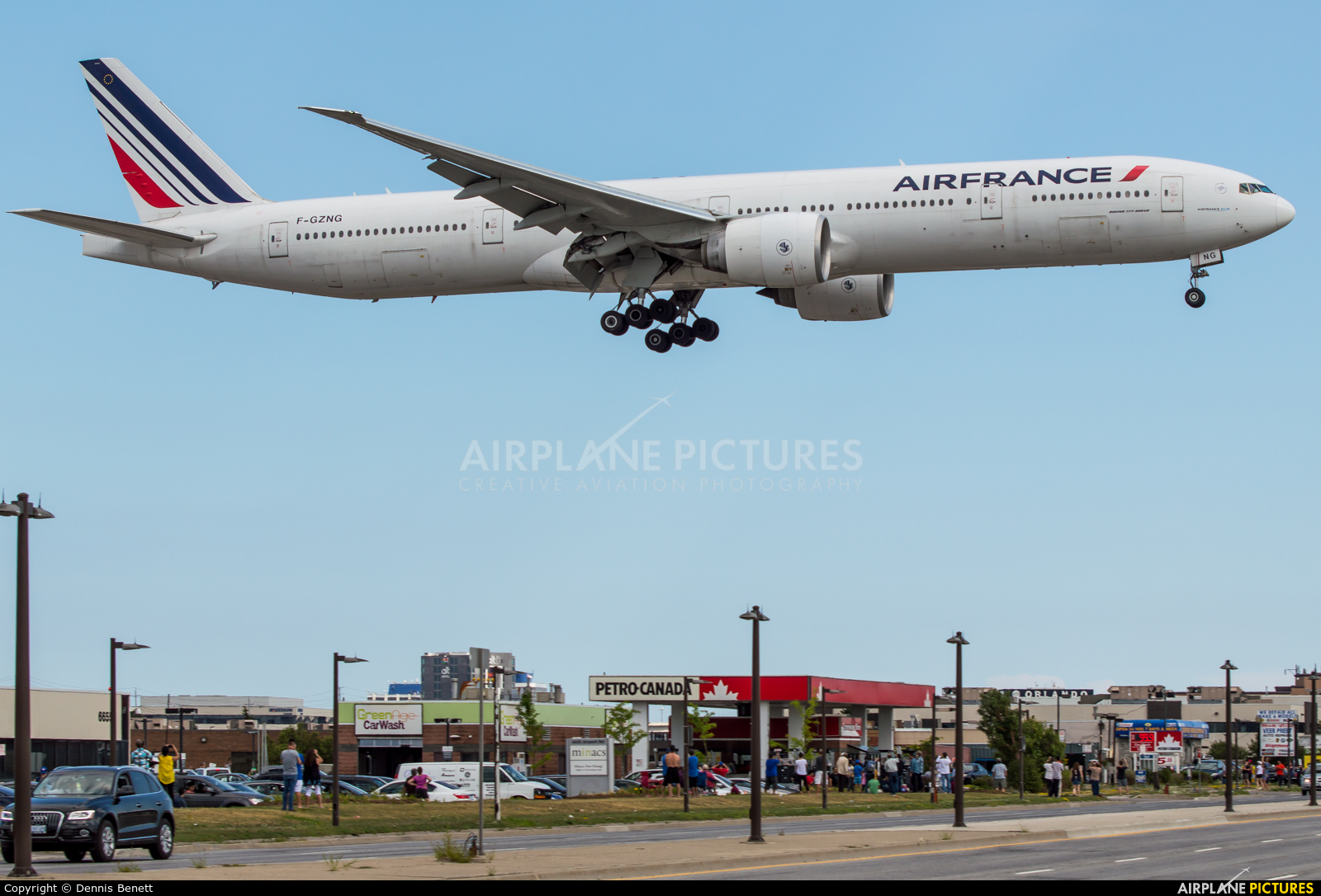 Air France F-GZNG aircraft at Toronto - Pearson Intl, ON