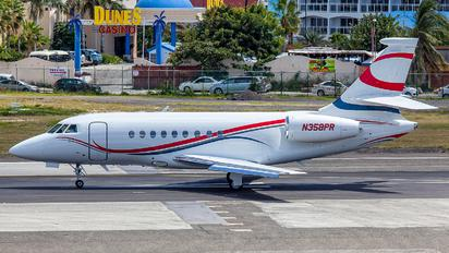 N358PR - Private Dassault Falcon 2000