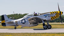 NL7TF - Private North American P-51D Mustang aircraft