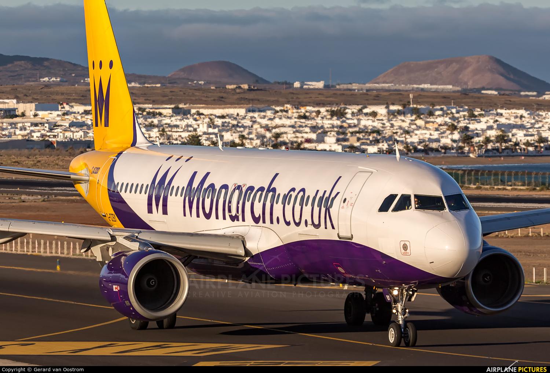 Monarch Airlines G-OZBY aircraft at Lanzarote - Arrecife