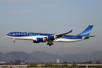 4K-AZ85 - Azerbaijan Airlines Airbus A340-500