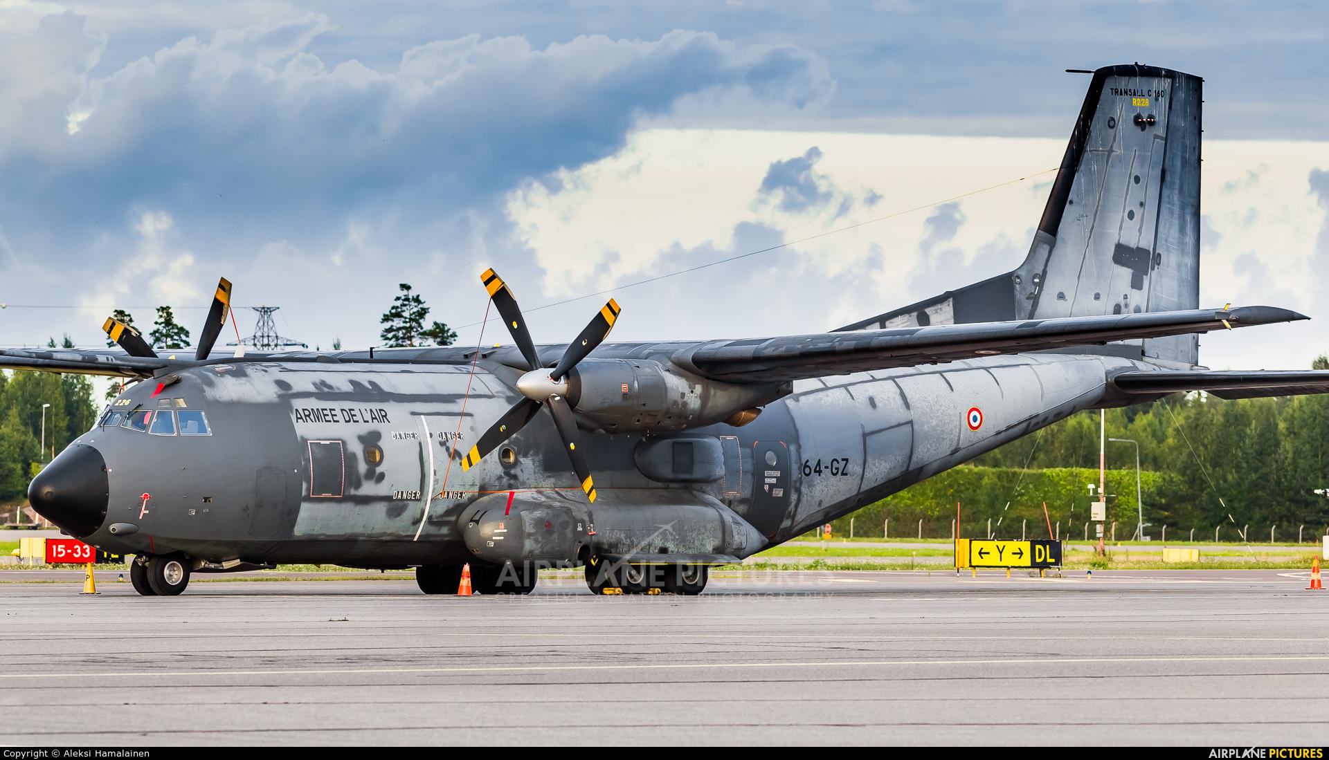 France - Air Force R226 aircraft at Helsinki - Vantaa