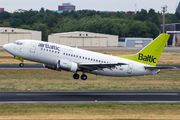 YL-BBE - Air Baltic Boeing 737-500 aircraft