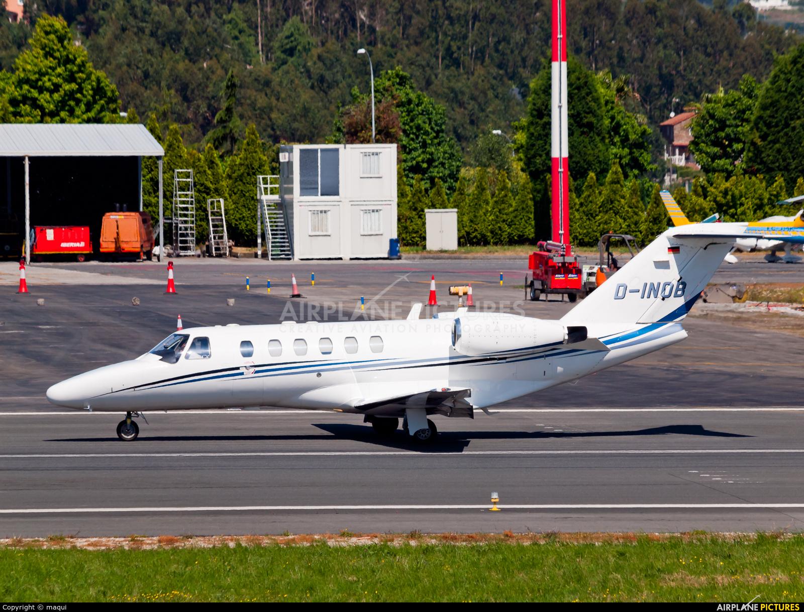 Atlas Air Serice D-INOB aircraft at La Coruña