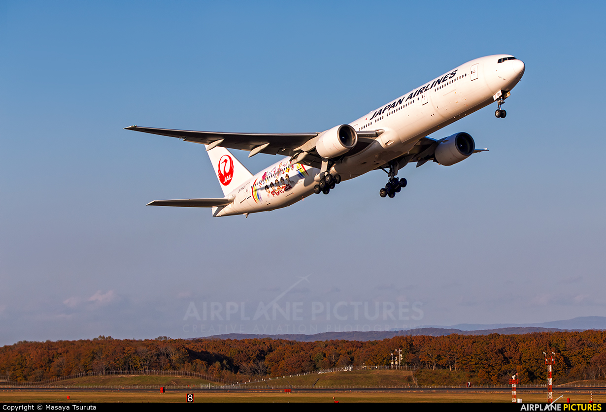 JAL - Japan Airlines JA751J aircraft at New Chitose