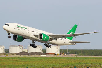 EZ-A778 - Turkmenistan Airlines Boeing 777-200LR