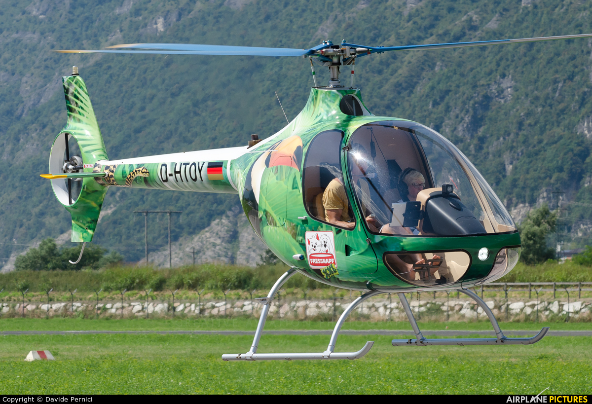 Heli Aviation D-HTOY aircraft at Trento - Mattarello