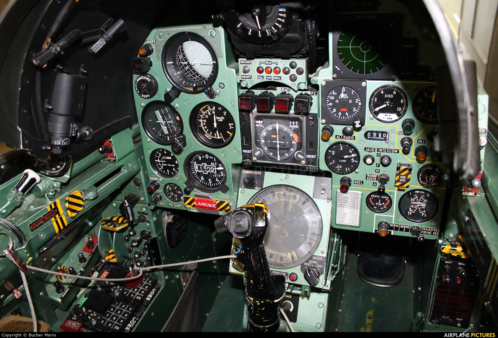 Switzerland - Air Force R-2109 aircraft at Buochs