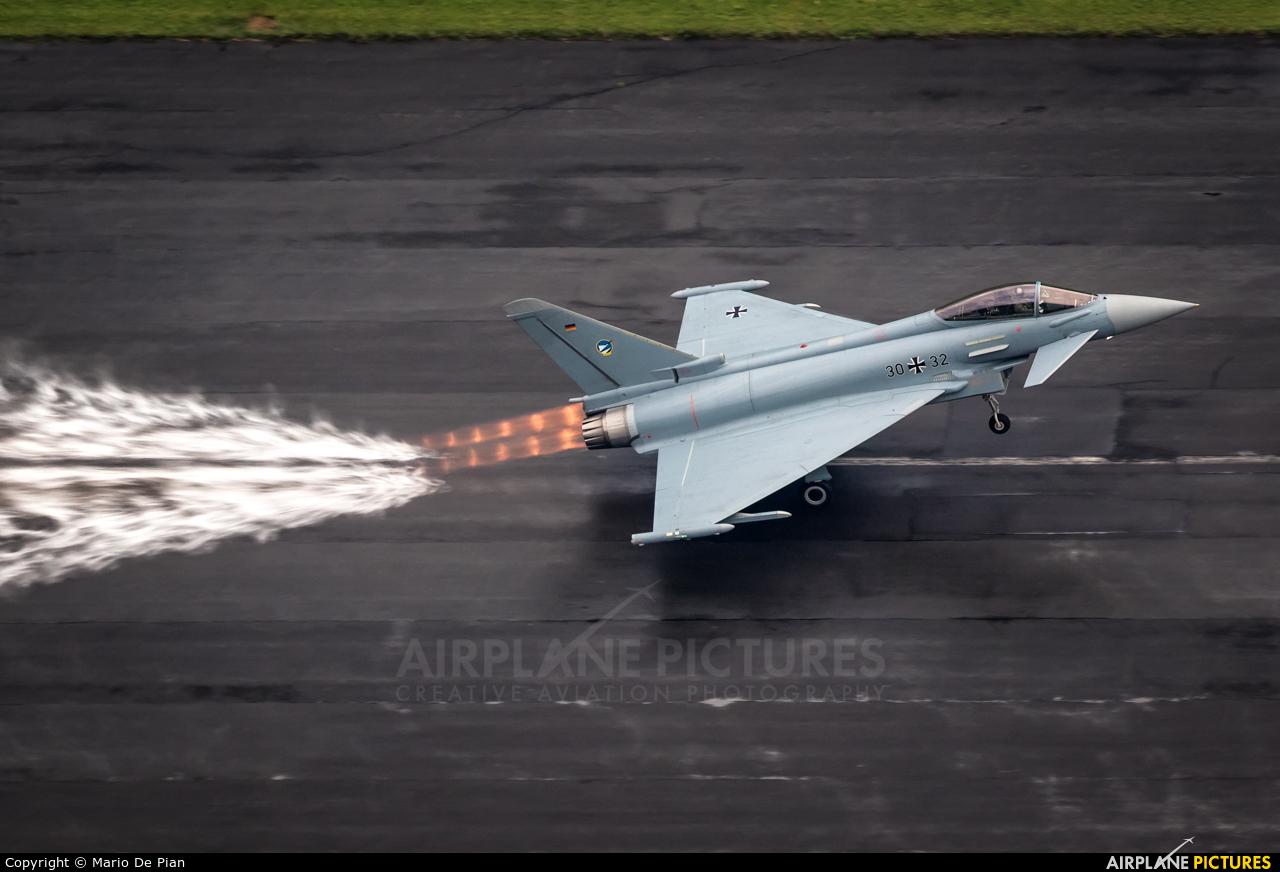 Germany - Air Force 30+32 aircraft at Mollis