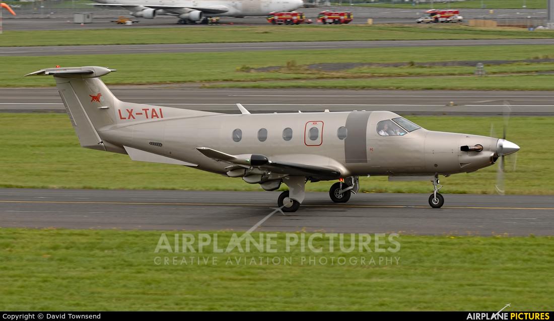 Unknown LX-TAI aircraft at Prestwick