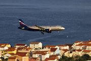 VP-BZQ - Aeroflot Airbus A320 aircraft