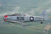 N36 - Private North American T-6G Texan aircraft