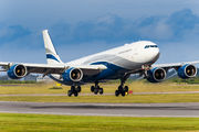 CS-TFX - Hi Fly Airbus A340-500 aircraft