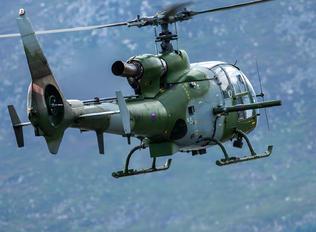 ZB678 - British Army Westland Gazelle AH.1