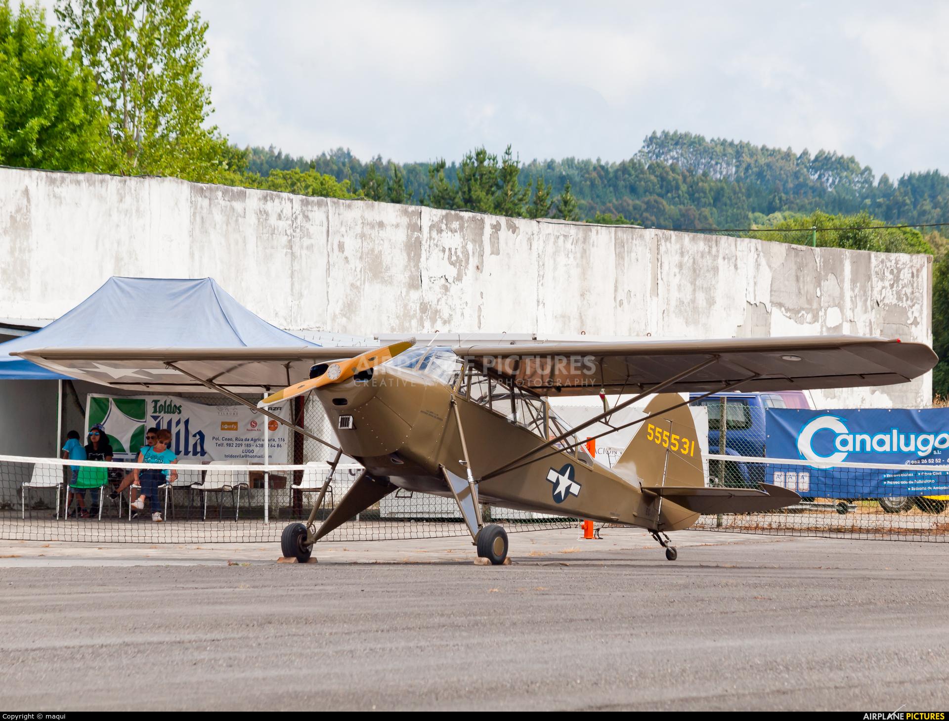 Fundación Infante de Orleans - FIO EC-AAP aircraft at Lugo - Rozas