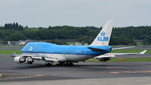 PH-BFE - KLM Boeing 747-400 aircraft