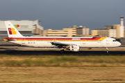 EC-ITN - Iberia Airbus A321 aircraft