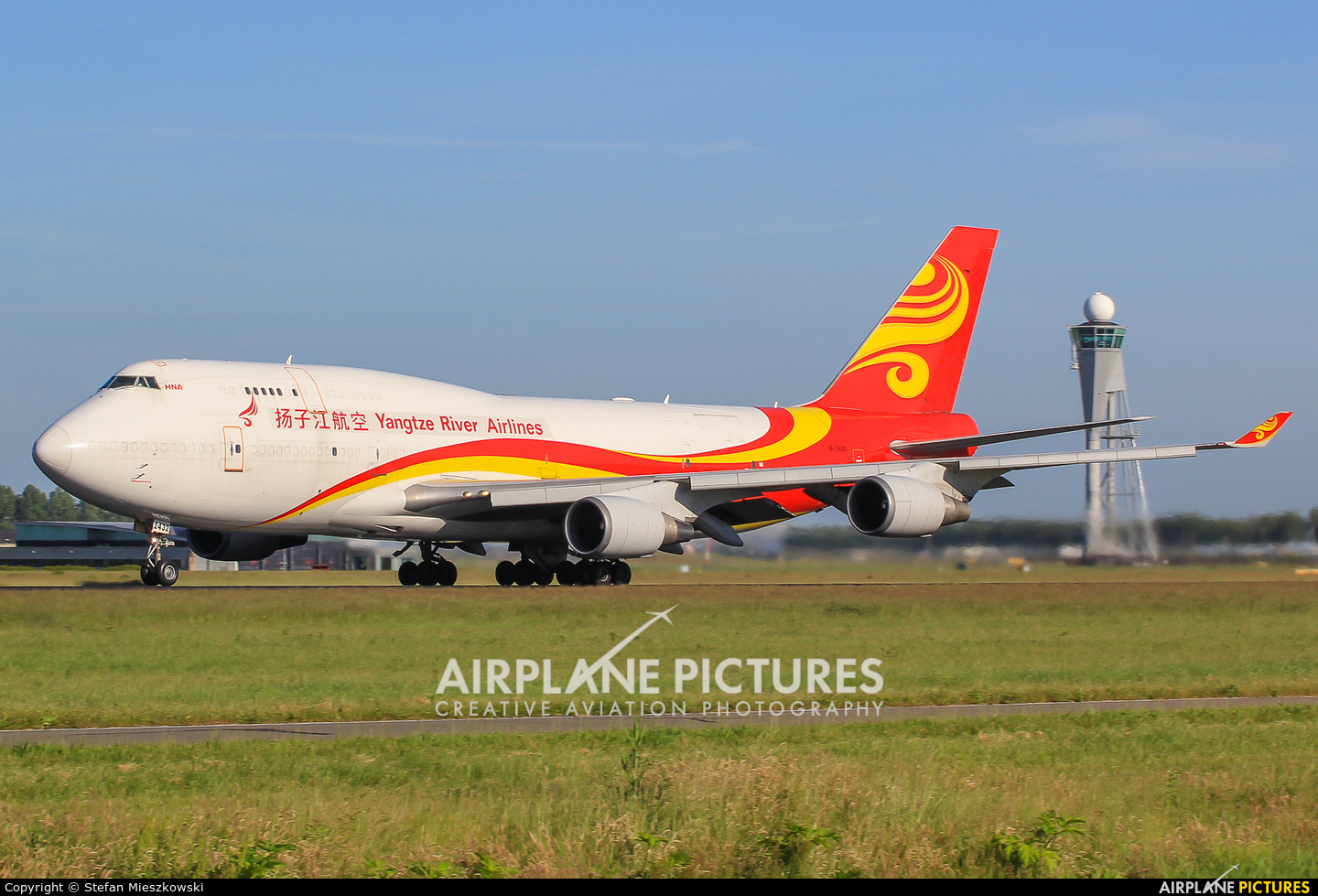 Yangtze River Airlines B-2432 aircraft at Amsterdam - Schiphol