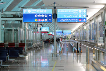 OMDB - - Airport Overview - Airport Overview - Terminal Building